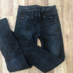 Midge straight G Star- RAW black jeans 26